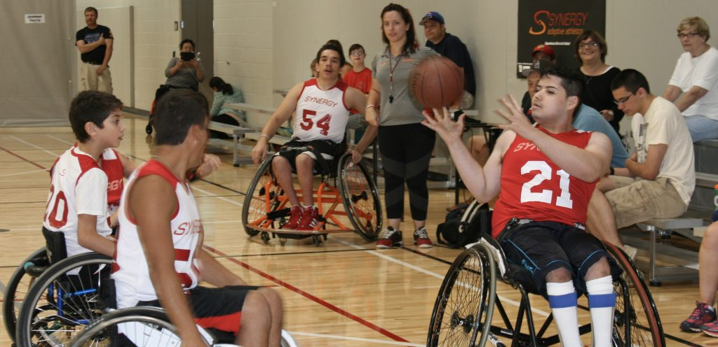 wheelchair basketball graphic