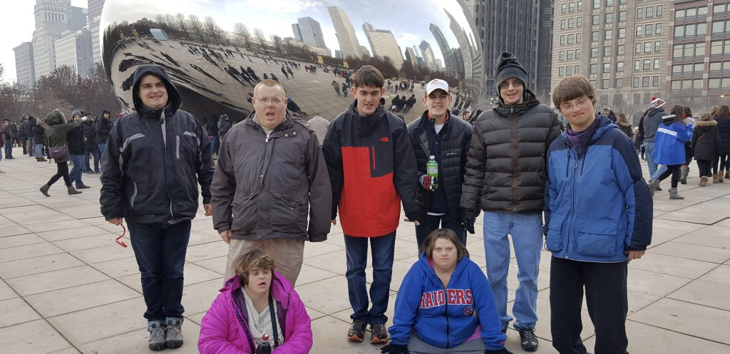 at the bean graphic
