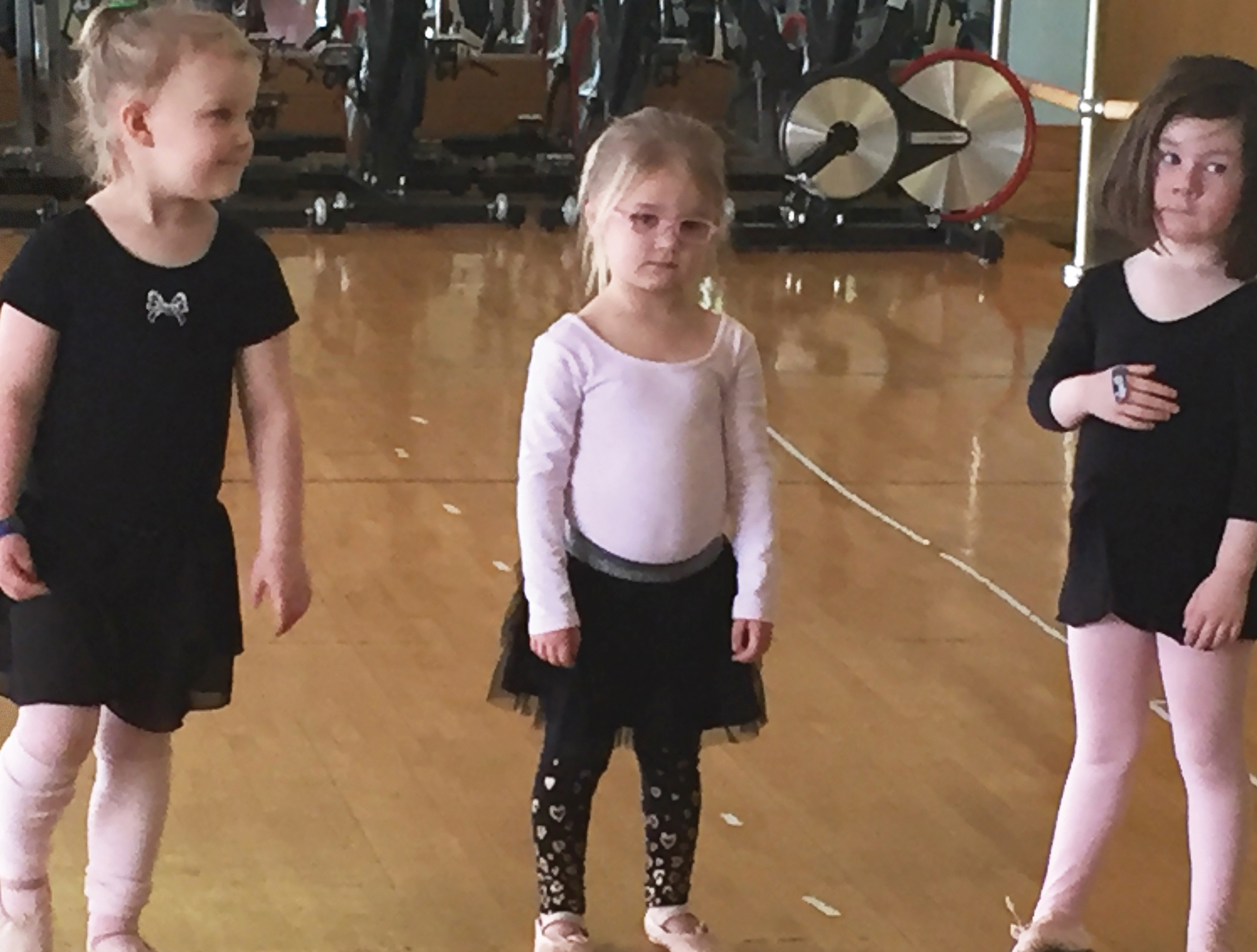 Inclusion photo at ballet class