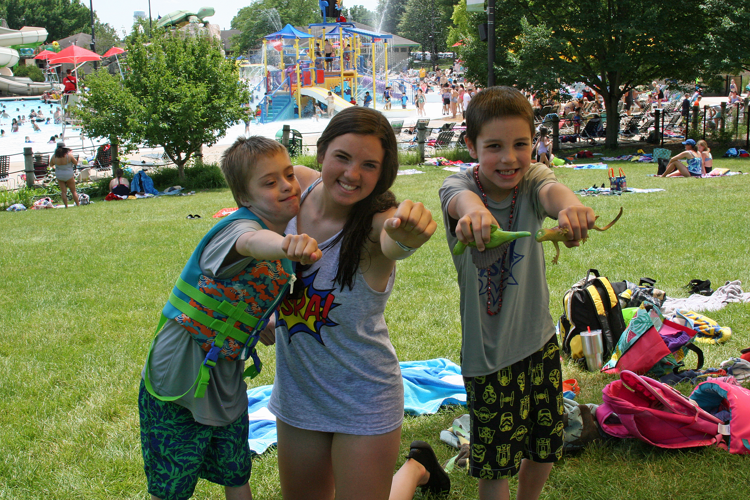 summer camps at the pool