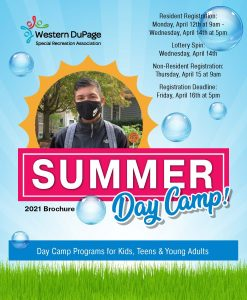 Summer Day Camp Cover 2021